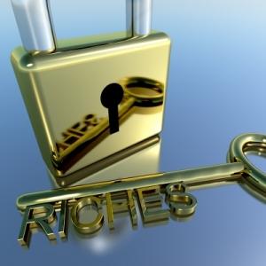 riches-padlock