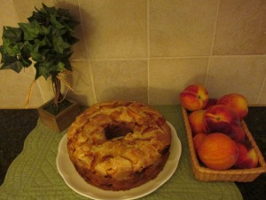my blog-peach cake 003