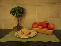 my blog-peach cake 005