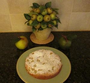 apple blondie cake logo 004